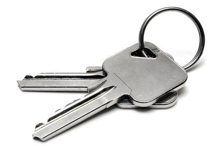 Two Apartment Keys w Ring