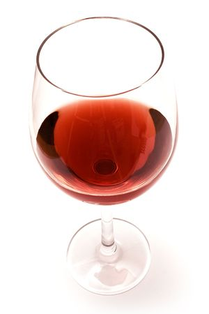rich flavor: Glass of Red Wine