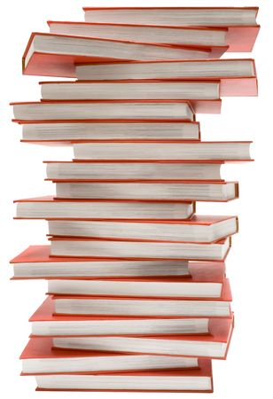Stacked Encyclopedia w Path photo