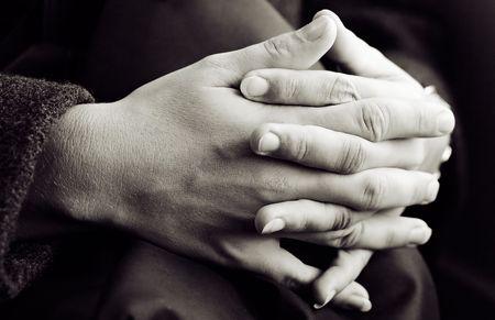 Hands (Monochrome) photo