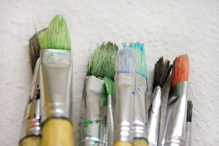 Bunch of Paint Brushes (Close View) Stock Photo - 431572
