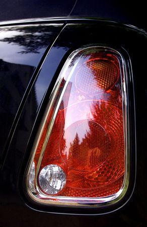 tail light: Tail Light Stock Photo