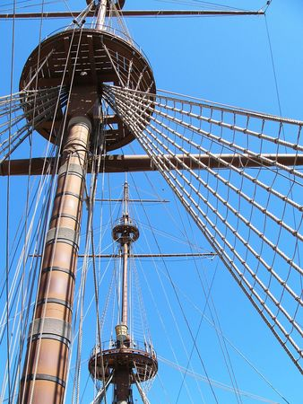 Hoisting the Sails photo