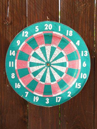 pointedly: Dartboard Stock Photo