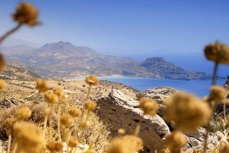 Coastline in Crete photo