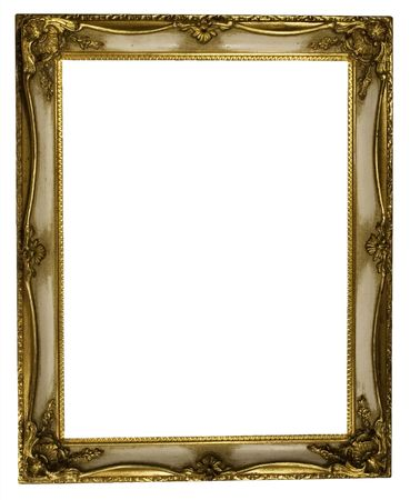 undefined: Picture Frame Gold (Path Included)