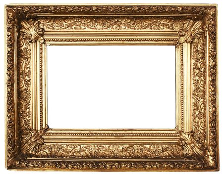 ornamented: Ornamented Picture Frame Gold (Path Included)