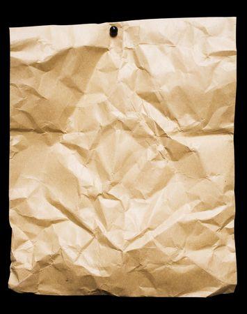 paper packing: Derrumb� de embalaje de papel  Foto de archivo