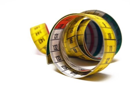 Rolled Measuring Tape Stock Photo - 431426