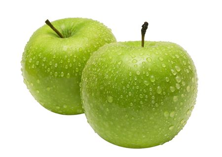 Two Apples w/ Path Stock Photo - 431422