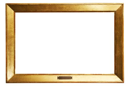 undefined: Simple Golden Frame w Path