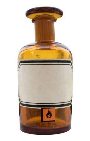 Apothecary Bottle w/ Path Stock Photo - 431386