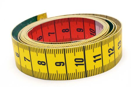 Rolled Tape Measure Stock Photo - 431383