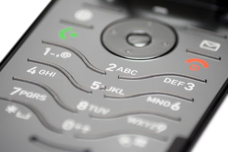 Cell Phone Keypad (Close View) Stock Photo - 431360