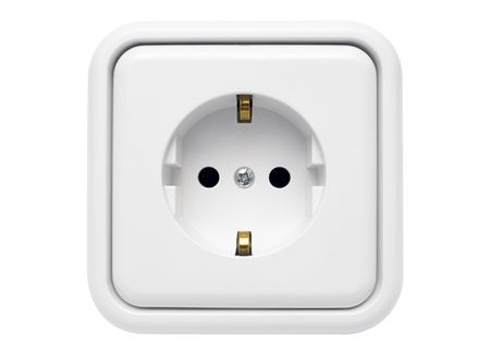 White Power Outlet w Path