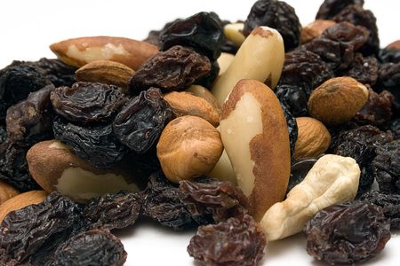 harmless: Trail Mix (Close Front View) Stock Photo