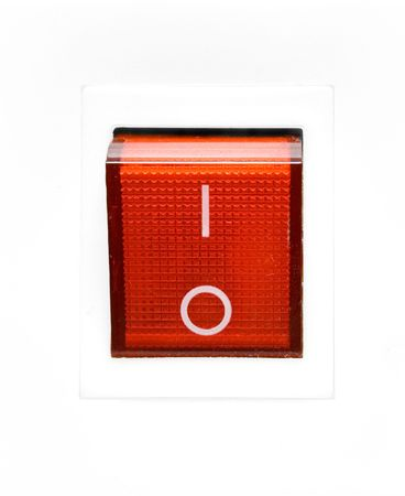 interrupteur on off: Red Power Switch - OFF
