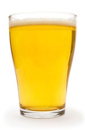 pilsner: Peque�o vaso de cerveza