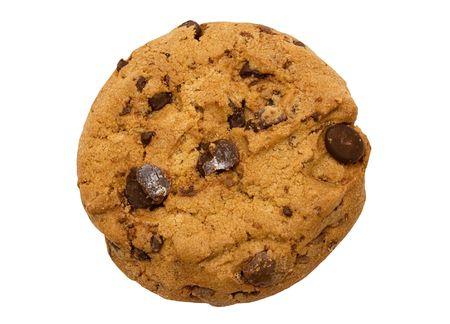 Single Chocolate Chip Cookie w Path