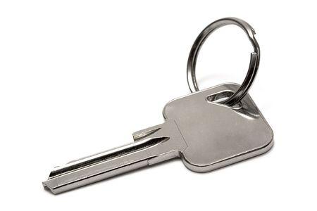 Single Apartment Key w Ring photo