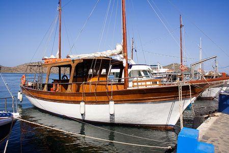 Docked Yacht Stock Photo - 435458