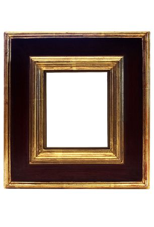 undefined: Gold Framed Picture Frame w Path