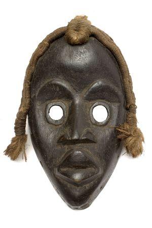 anonymity: Female Carnival Mask w Path Stock Photo