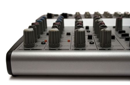 Mixing Desk (Top Front View) photo
