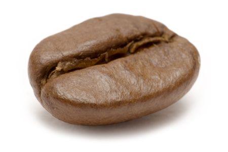 Single Coffee Bean Stock Photo