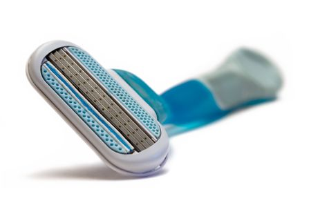 Blue Razor Stock Photo - 447627