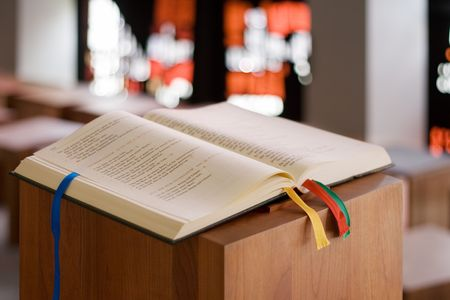 Holy Book Stock Photo