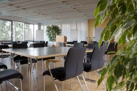Empty Meeting Room Stock Photo