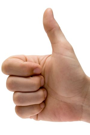 Gestures - Thumbs Up w Path