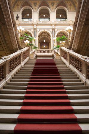 Noble Stairway Stock Photo