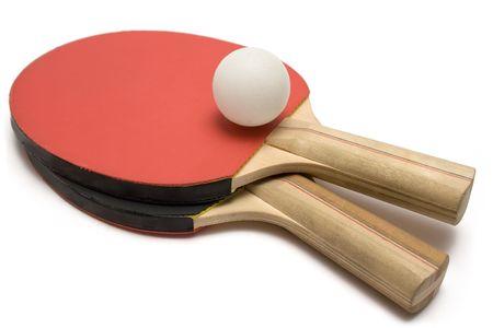 Ping Pong Paddles w Ball