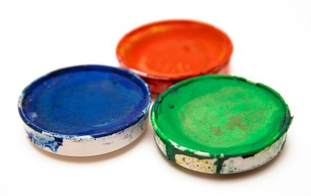 RGB Watercolors photo
