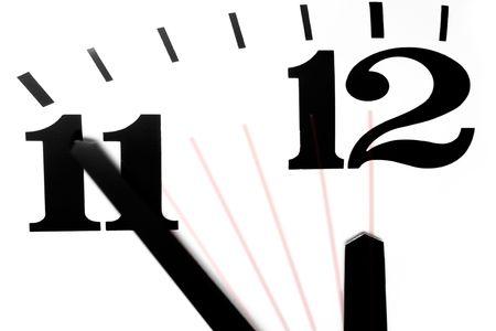 chronology: Cinco minutos para la medianoche