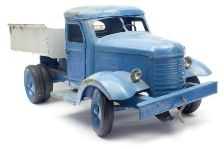collectable: Blue Toy Truck
