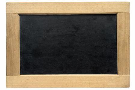 Empty Small Chalkboard w/ Path Stock Photo - 1335429