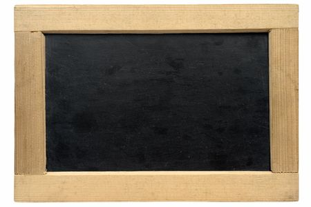 didactic: Empty Small Chalkboard w Path