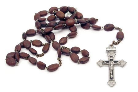 sacraments: Rosary Stock Photo