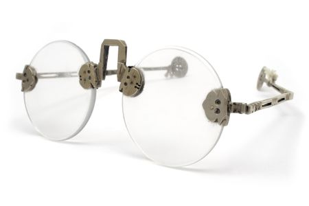 protecting spectacles: Ancient Eyeglasses