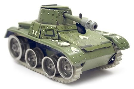 Old Toy Tank Stock Photo - 1357277