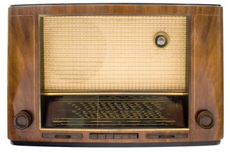 airwaves: Vintage Tube Radio w Path