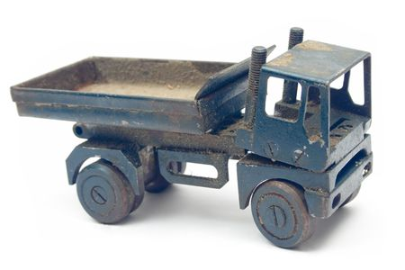 Grungy Toy Truck photo