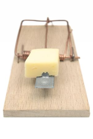 mechanical mouse: Mousetrap (Front View)