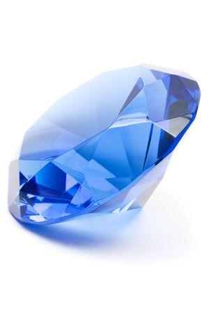 saffier: Gemstone Blue Stockfoto