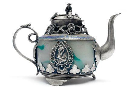 antique asian: Antique Teapot