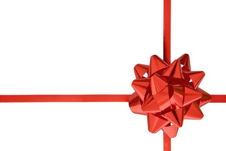 Gift ribbon isolated on a white background. Stock Photo - 2225747