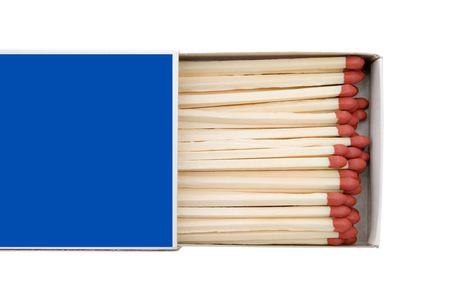 Matchbox isolated on a white background. Stock Photo - 2705847